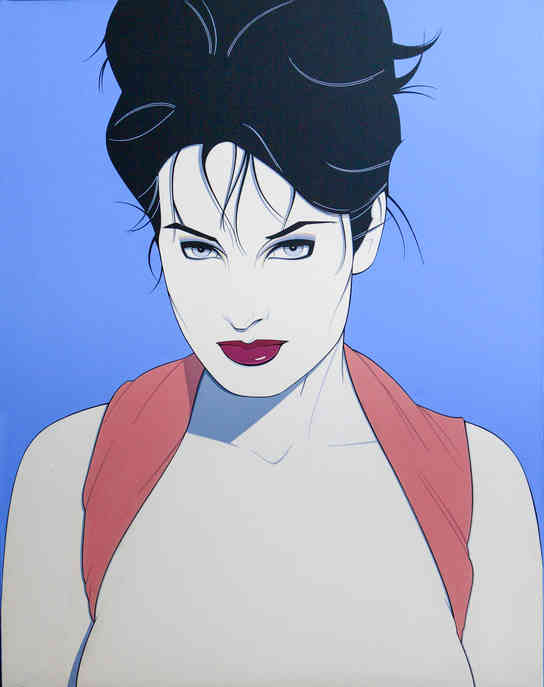 Patrick Nagle - Pin Up with Her Hair Up