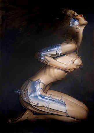 Hajime Sorayama - ek tôn metallicôn cover image