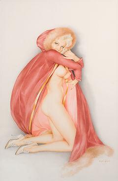 Alberto Vargas Playboy pin up art 1960s