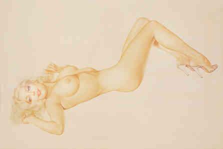 Alberto Vargas - Blonde Venus