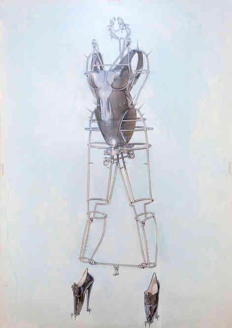 Hajime Sorayama - Torquere cover image Wire Frame