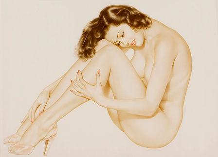 Albeto Vargas Legacy Nude 1940-1950