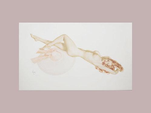 Alberto Vargas Pin-up Print Legacy Nude #2 9/50