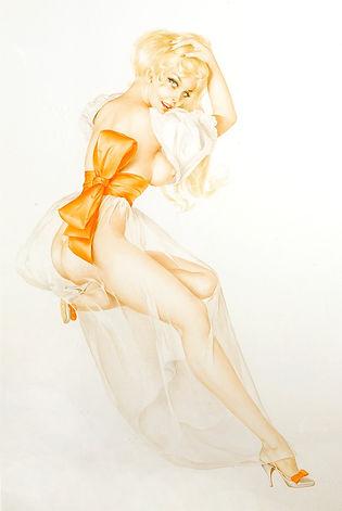 Alberto Vargas Original Art for sale