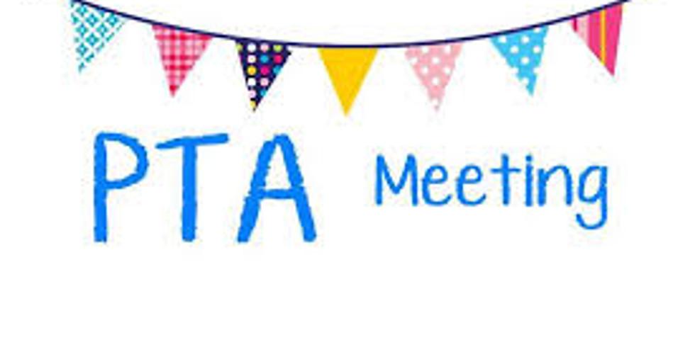 PTA Meeting Tuesday, Jan 7 @ 6:30 PM