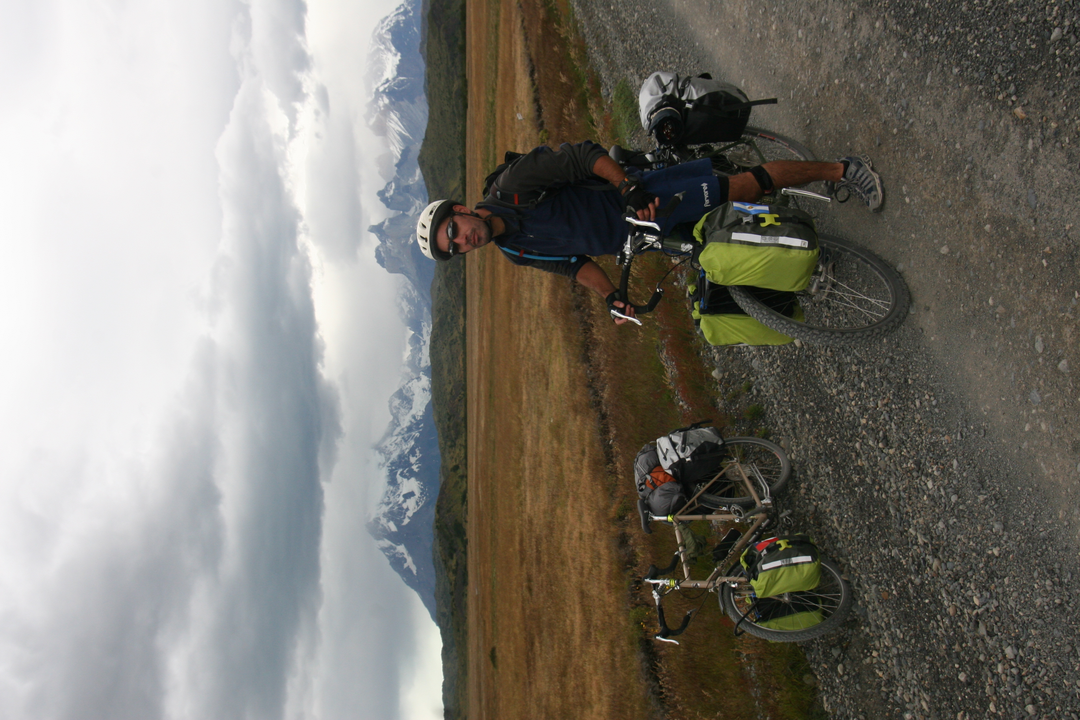 biking in Torres del Paine