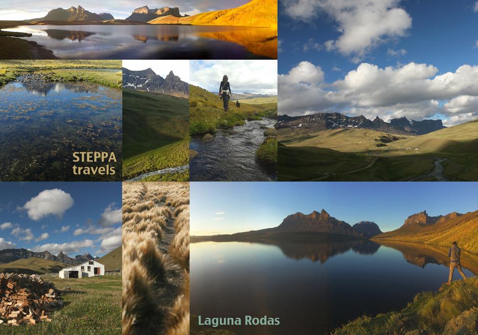 Laguna Rodas Sierra Baguales