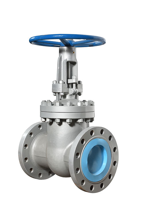bigstock-New-Rotary-Valve-Type-Is-Silve-