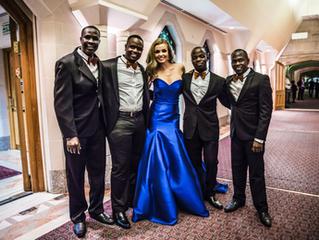 Sauti ya Africa perform with Katherine Jenkins