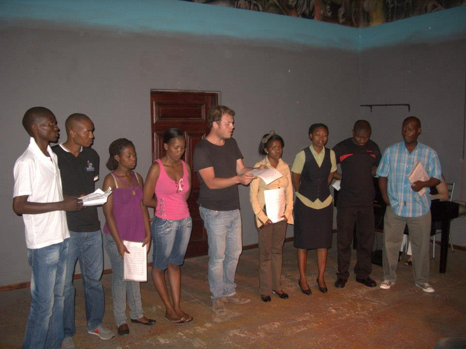 Andy Staples & Sedibeng Choir