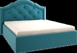 Кровать мягкая прямоугольная крукная стё