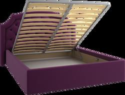 Кровать открытая фигурная мягкая 32