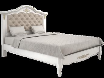 Кровать каретная золото.png