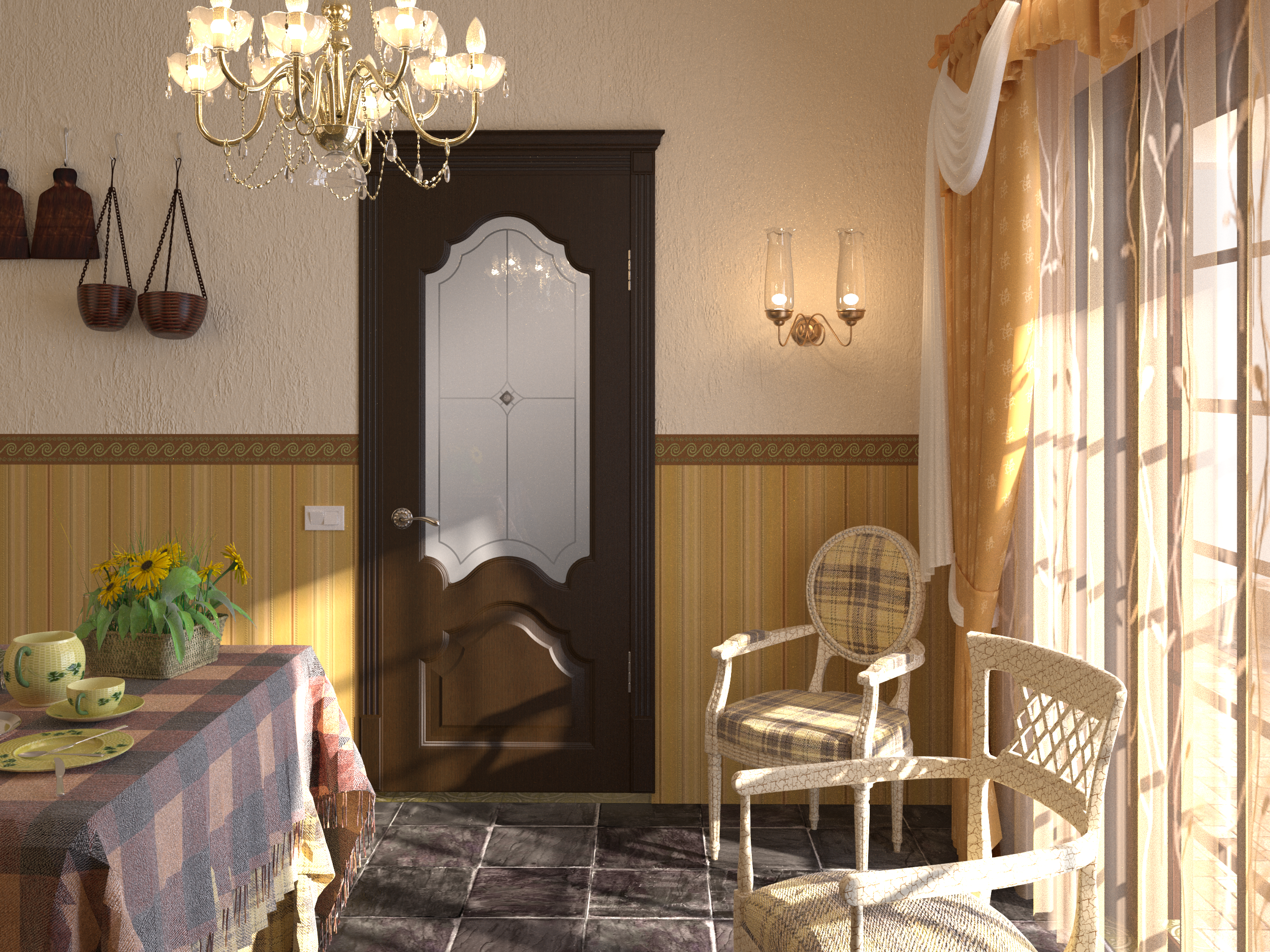 Interior_Kardinal_venge