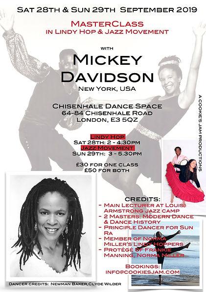 Mickey Davidson Poster September 2019 sm