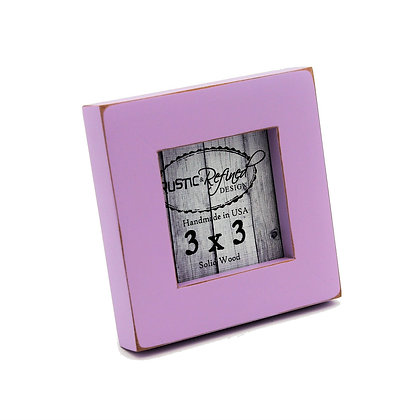 "3x3 1"" Gallery Picture Frame - Lavender"