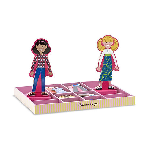 Magnetic Dress-up Dolls, Abby & Emma