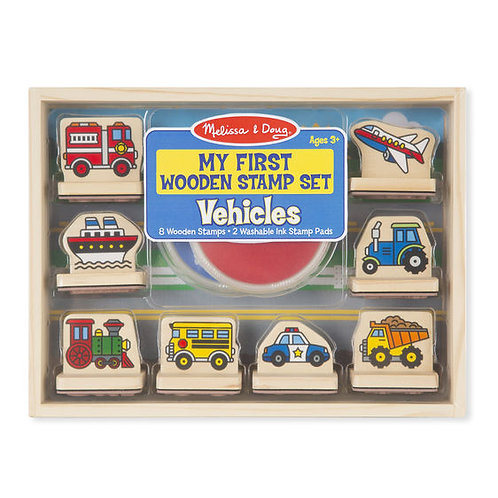 My First Stamp Set ,Vehicles
