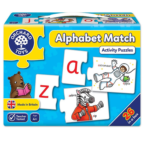 Alphabet Match Activity Puzzles
