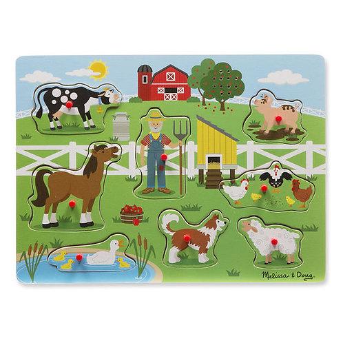 Old MacDonalds Farm Sound Puzzle