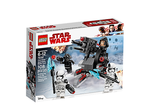 First Order Battle Pack 75197