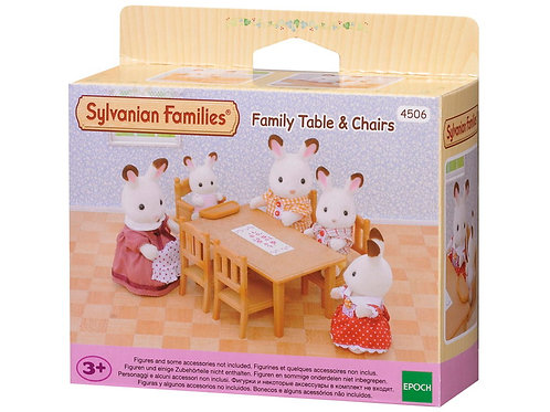 Sylvanian Family Table & Chairs