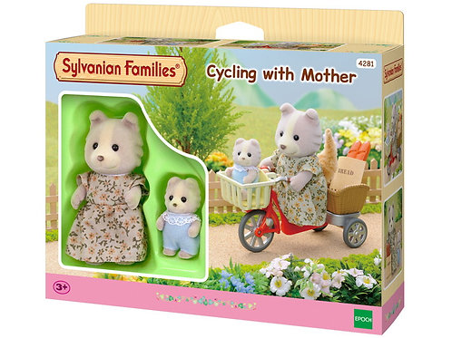 Sylvanian Families, Cycling With Mother