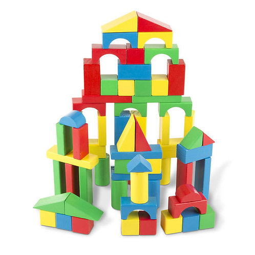 1OO Wooden Blocks