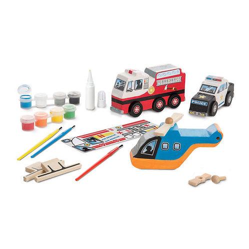 Rescue vehicles Set