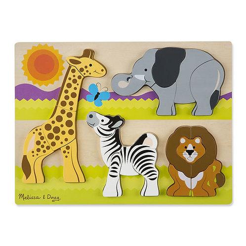 Chunky Safari Jigsaw Puzzle