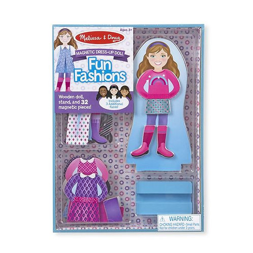 Magnetic Dress -Up Doll