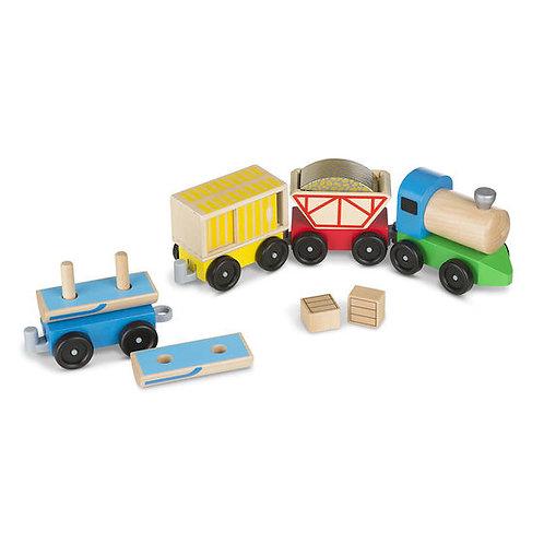 Wooden Cargo Train