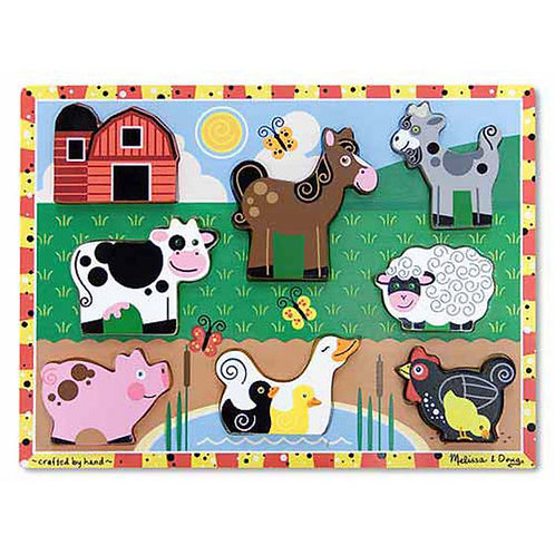 Chunky Puzzle, Farm Animals