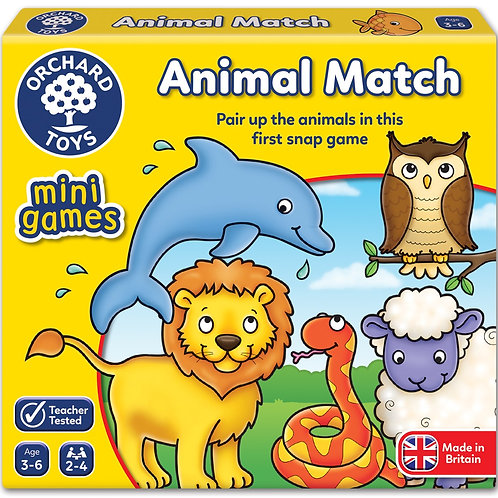 Animal Match Game