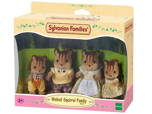 Sylvanian Families, Walnut Squirrel Family