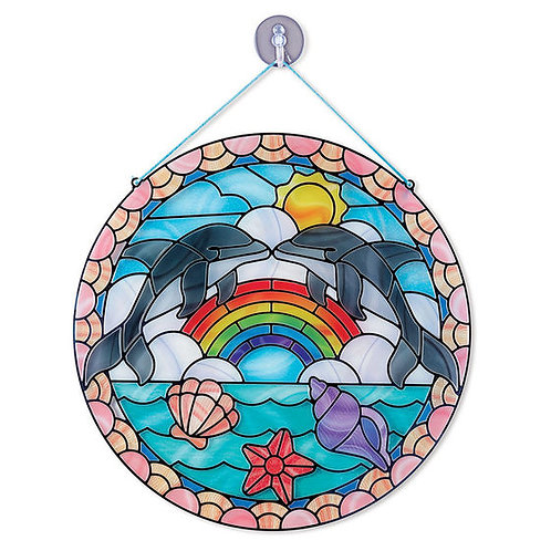 Stained Glass Made Easy Dolphin