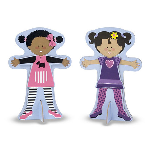 Magnetic Dress-up Dolls