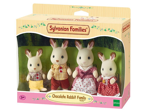 Sylvanian Families, Chocolate Rabbit Family