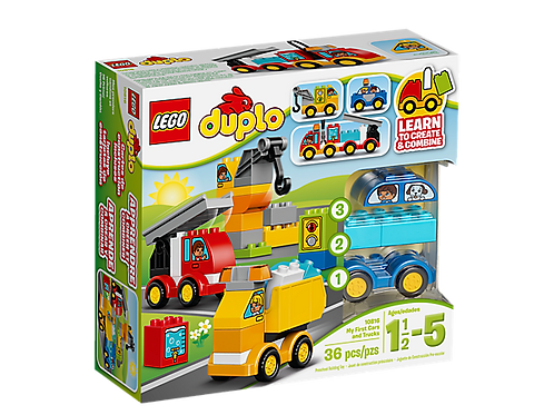 Duplo My First Car And Trucks 10816