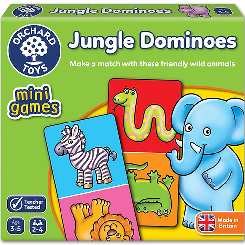 Jungle Dominoes