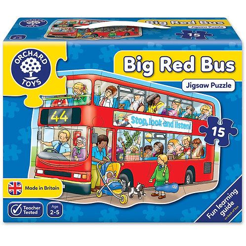 Big Red Bus Jigsaw