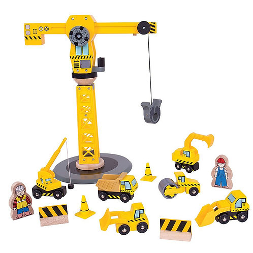 Big Crane Construction Set