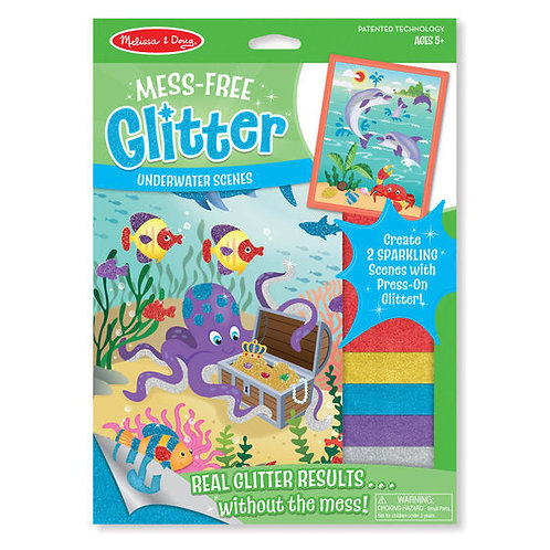 Mess Free Glitter Underwater