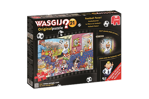 WASGIJ 21 Football Fever