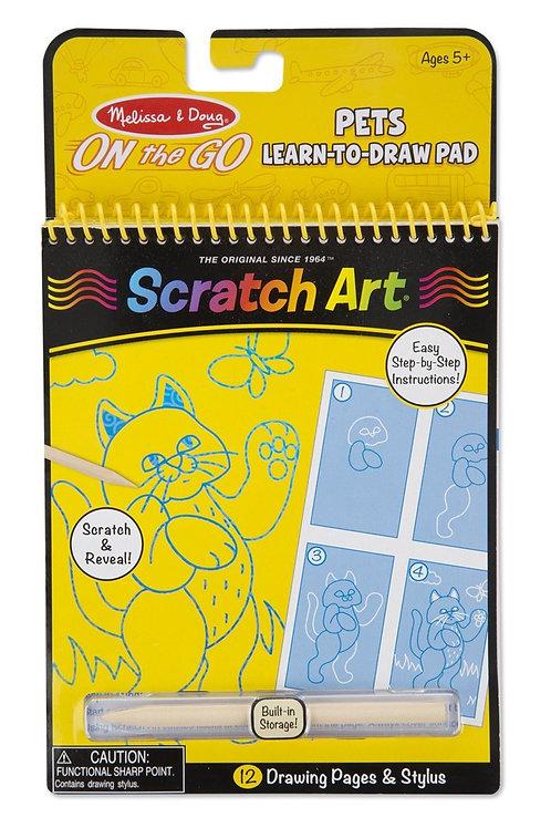 Scratch Art Pets