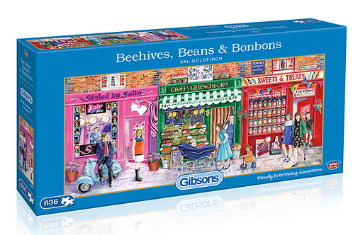 Beehives,Beans & Bonbons