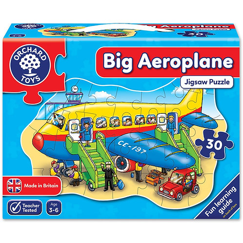 Big Aeroplane Jigsaw