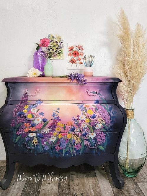 Spring Flower Dresser