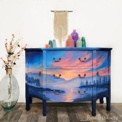 Sunset Lake Dresser/ Buffet