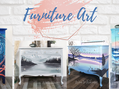 5 Furniture Painting Tips With Worn To Whimsy